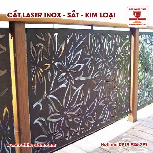 Công nghệ Cắt Laser Fiber tiên phong đi đầu trong trang trí nội thất bằng sắt thép inox