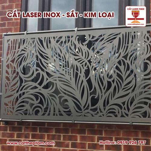 Trang trí nội thất, hoa văn sắt mỹ thuật, vách ngăn sắt mỹ thuật đơn giản vì cắt laser kim loại inox sắt thép