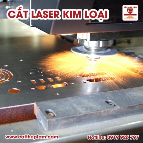 Cắt laser kim loại xu hướng gia công hot nhất hiện nay