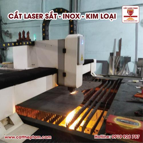 Chuyên nhận dự án cắt laser sắt giá rẻ lấy hàng nhanh, gia công số lượng lớn
