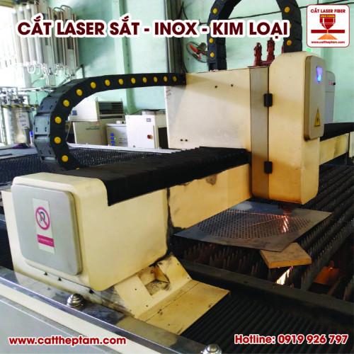 Cắt laser vách ngăn sắt tốc độ nhanh giá rẻ