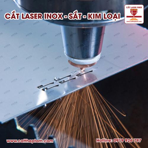 Cắt laser sắt giá rẻ tphcm
