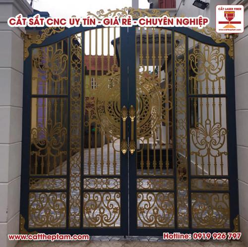 Top những cánh cửa sắt CNC được nhiều khách hàng ưa chuộng và sử dụng