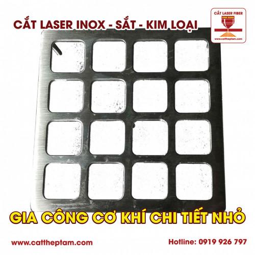 Gia công cơ khí chi tiết nhỏ bằng công nghệ cắt laser