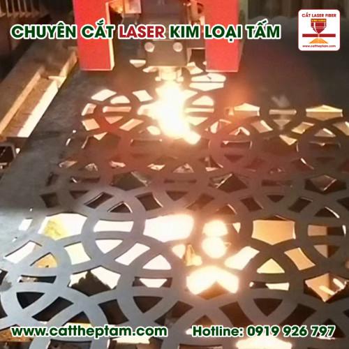 Cắt laser kim loại uy tín hcm