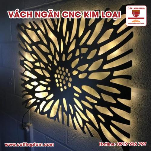 Vách ngăn CNC kim loại xu hướng lựa chọn cho trang trí nội thất bền bỉ đẹp với thời gian