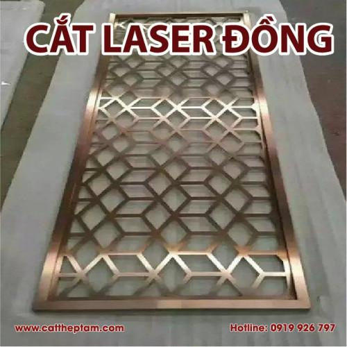 Cắt laser đồng giá rẻ