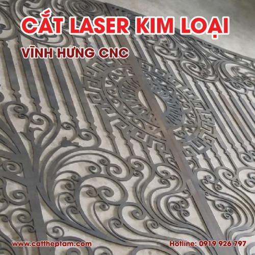 Gia Công Cắt Laser Sắt Thép