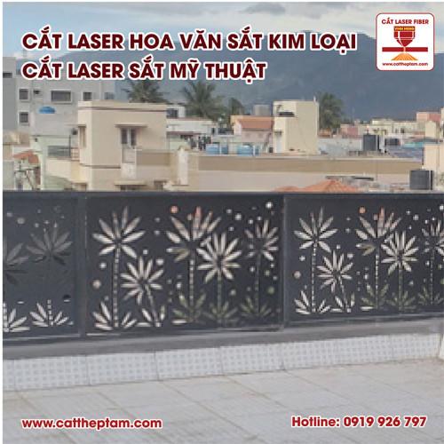 Cắt laser hoa văn sắt kim loại, cắt laser sắt mỹ thuật