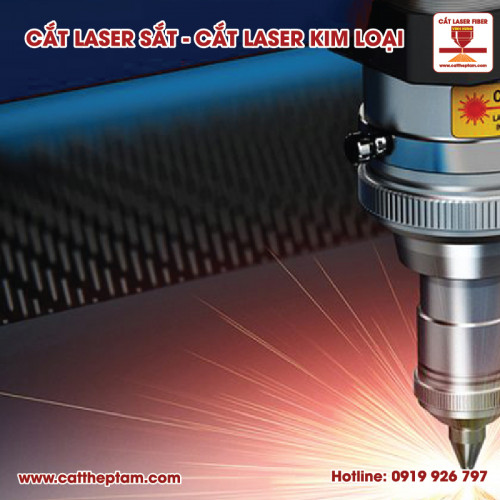 Cắt laser sắt quận Tân Phú