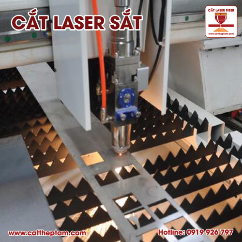 Cắt laser sắt Cần Thơ