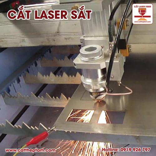 Cắt laser sắt Bạc Liêu
