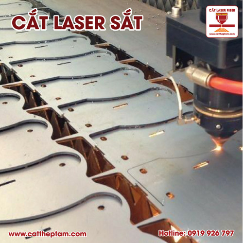 Cắt laser sắt Bến Tre