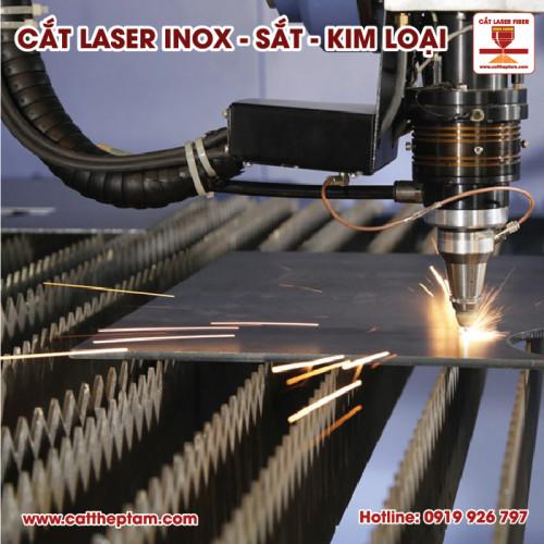 Cắt laser inox theo yêu cầu