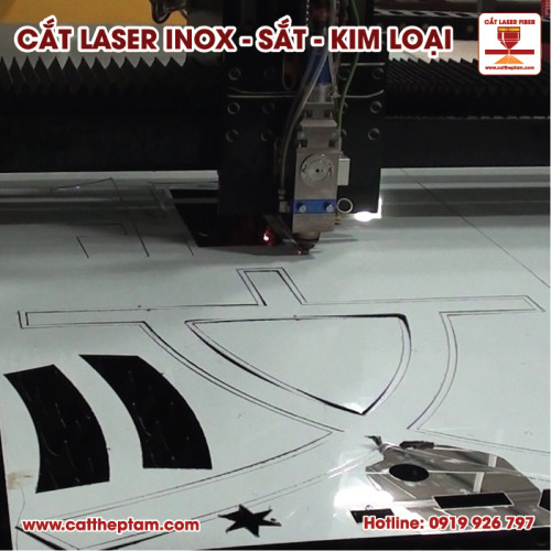 Cắt laser trên kim loại tphcm